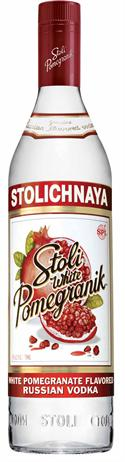 Stolichnaya Vodka White Pomegranik